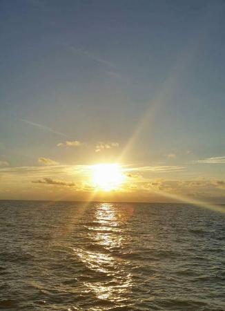 Coral Resort Condominiums: Almost sunset