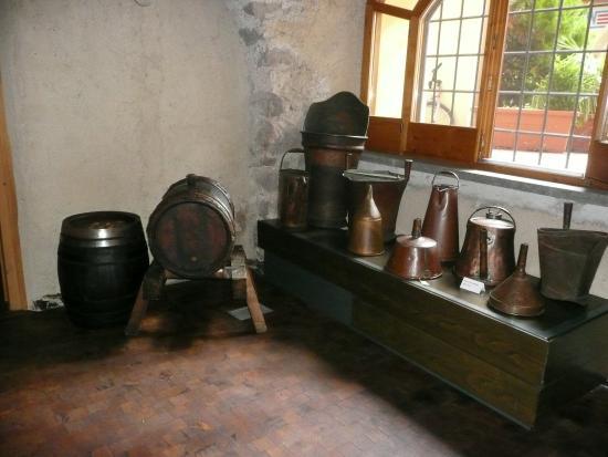 Sudtiroler Weinmuseum: Exponate