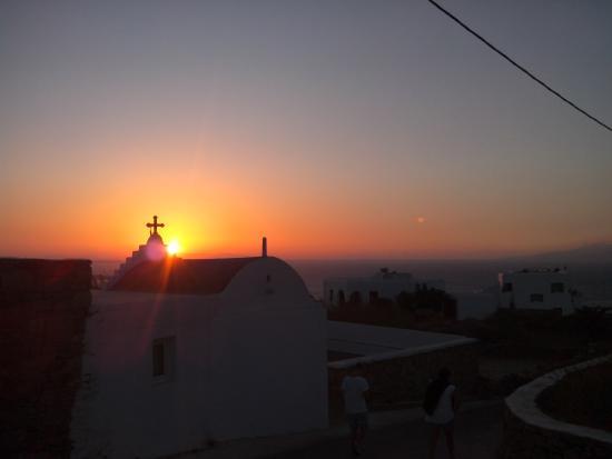 Sofia Village: Sunset