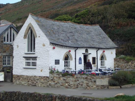 Boscastle, UK: View of Tea Room