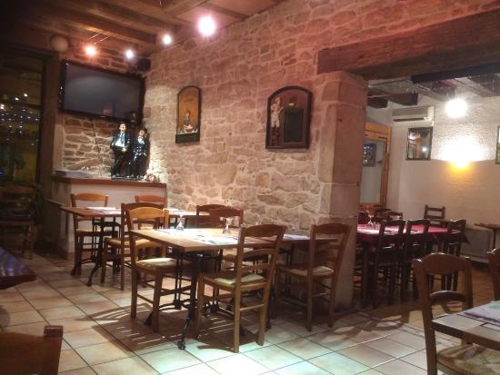 Au Feu de Bois, Saint Laurent sur Sa u00f4ne Restaurant Avis, Numéro de Téléphone& Photos  # Restaurant Feu De Bois