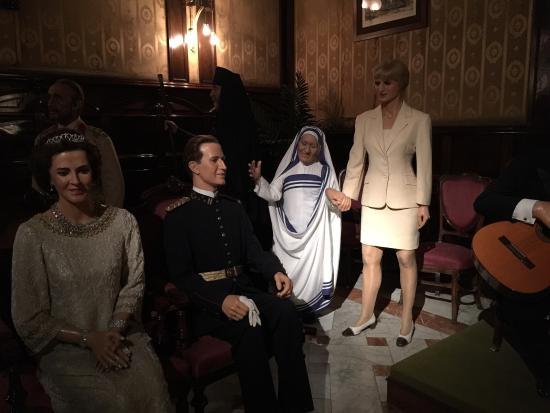 Museu de Cera: Personaggi celebri