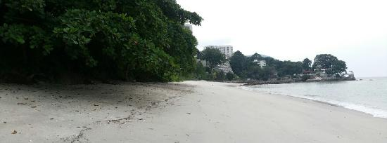 Copthorne Orchid Hotel Penang: Private beach