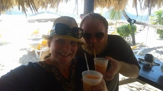 Oyster Pond, St. Maarten: Pinel Island - Get the Rum Runner!