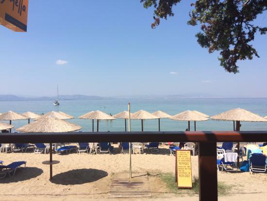 Aerides Beach Bar - Restaurant: Udsigten fra restauranten