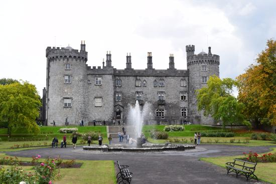 Kilkenny Castle, from the gardens