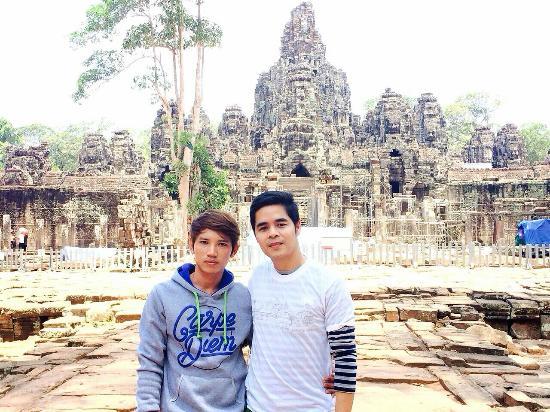 angkor: I'm mr.Tiger with my customer so happy