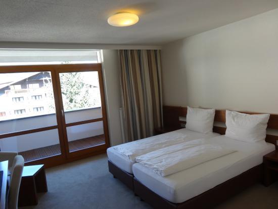 Hotel Garni Rundeck: unser Zimmer