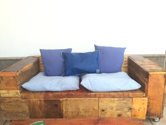 Handmade Sofa Picture Of The Workshop Cafe Bar Corralejo