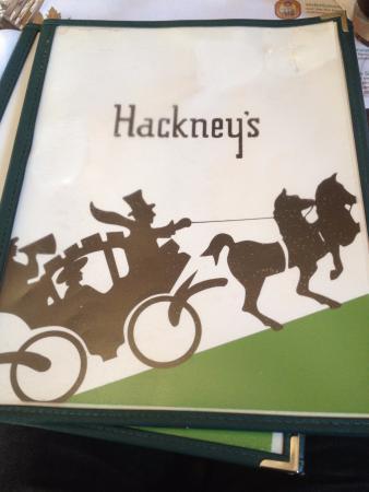 Hackney's: Cardápio