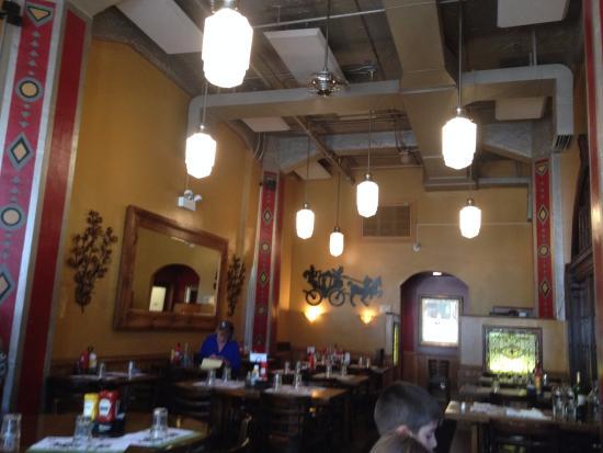 Hackney's: Dentro do restaurante