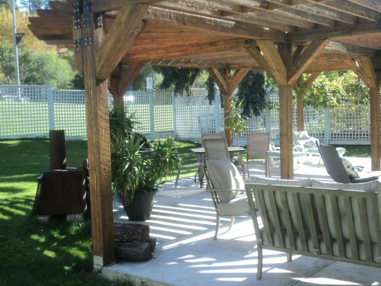 Grand Forks, Canada: our pergola offers a relaxing area to unwind