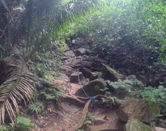 Stann Creek, Belize : The Climb