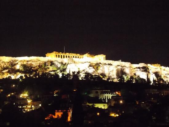 Foto De Plaka Hotel Atenas Plaka Hotel Atenas Vista Desde