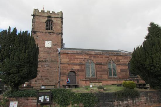 Little Budworth Parish Church is directly opposite the Red Lion