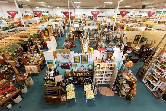 antique stores des moines Inside   Picture of Brass Armadillo Antique Mall, Des Moines  antique stores des moines