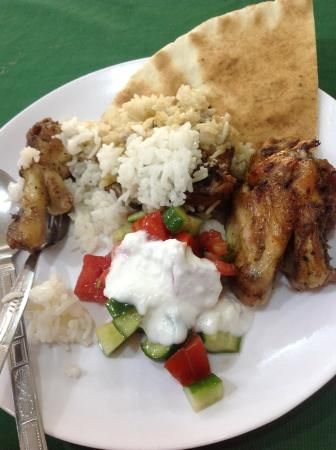 Azraq Palace Restaurant: Еда