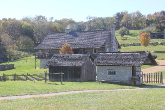 Staunton, Вирджиния: Authentic buildings.