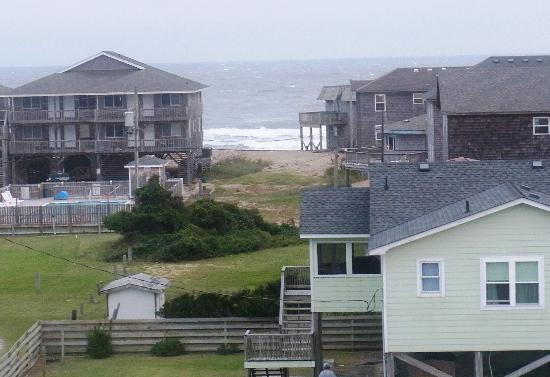 Hatteras Island Inn Buxton: View From Observation Deck 4 (ocean view)