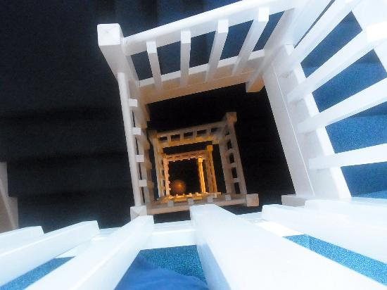 Hatteras Island Inn Buxton: View From Observation Deck 6 - stairwell