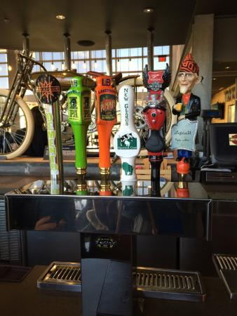 Spotted cow on tap picture of motor bar restaurant for Motor bar and restaurant