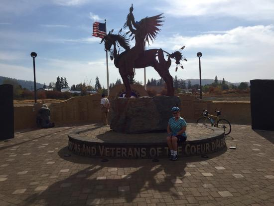 Memorial to Native American Veterans, Plummer, ID
