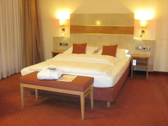 TOP CCL Hotel Essener Hof: Large room #216 at Essener Hof Hotel (18/Oct/15).