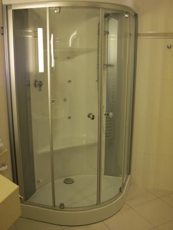 TOP CCL Hotel Essener Hof: Hi-end Shower Unit - Room #216 Essener Hof (18/Oct/15).
