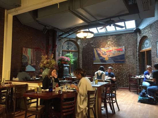 Зал - Picture of Cupping Room Cafe, New York City - TripAdvisor