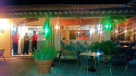 Red fish restaurant picture of red fish oranjestad for Red fish restaurant
