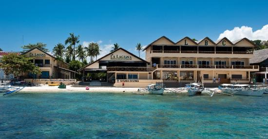 La Laguna Beach Club & Dive Centre: Lalaguna Beach Club from the water