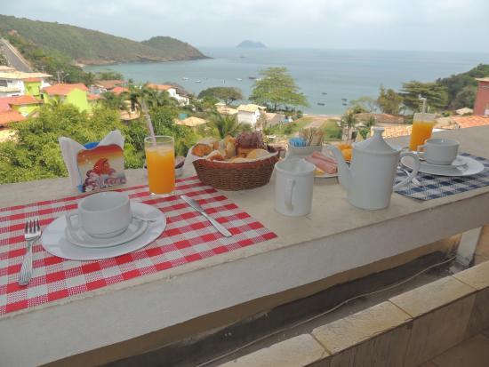 Casagrande Hotel Boutique: Desayuno en la habitanción.