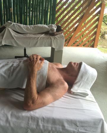 Tanya's Secret Escape: Couple's Massage
