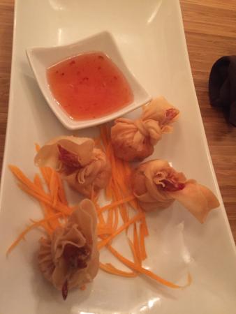 SukhoThai: Shrimp-in-a-pouch