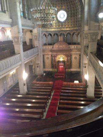 Jewish Museum of Buenos Aires: View from above