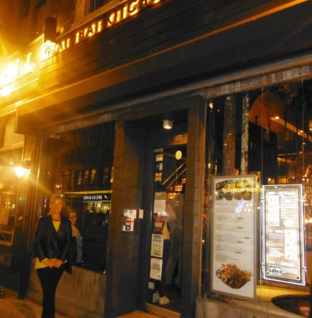 Outside the front of Chai Thai Kitchen - Picture of Chai Thai ...