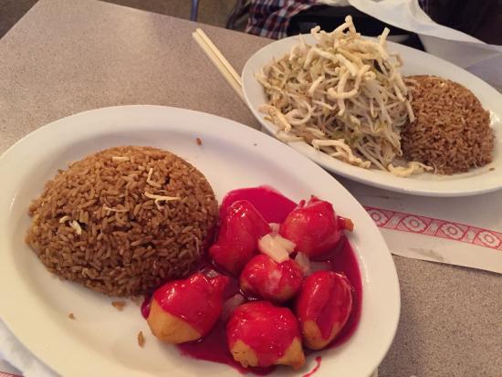 Canton Cafe: 酢鶏の色にびっくり(汗)