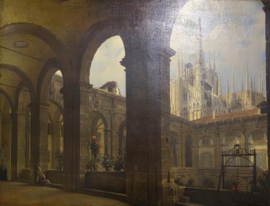 Giuseppe canella the corsia dei servi foto di palazzo for Palazzo morando