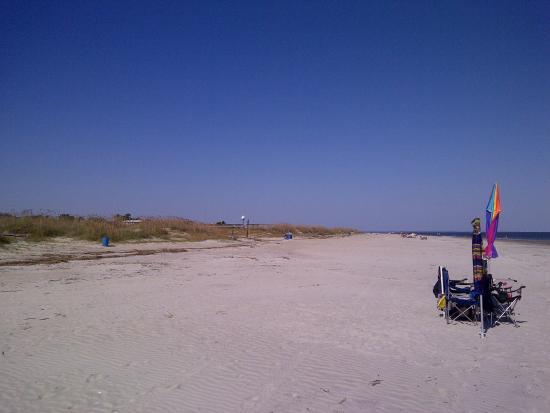 South Beach: White sandy beach
