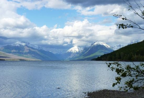 Glacier National Park Campgrounds: Lake near Apgar Campground