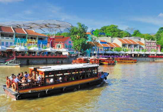 Image result for IMAGES OF BUMBOAT in singapore