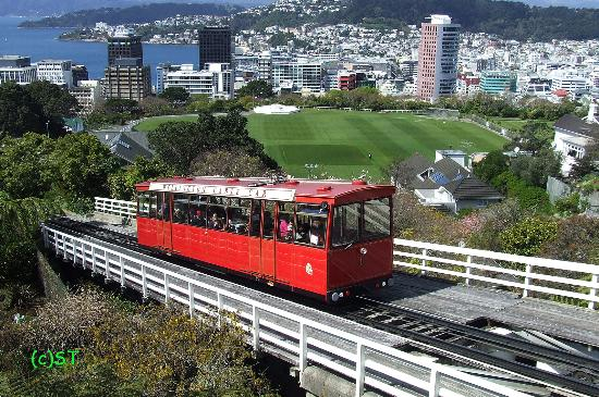 Cable Car With Welly Background Picture Of Wellington Cable Car