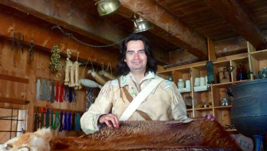 Fort Edmonton Park: First Nation interpreter