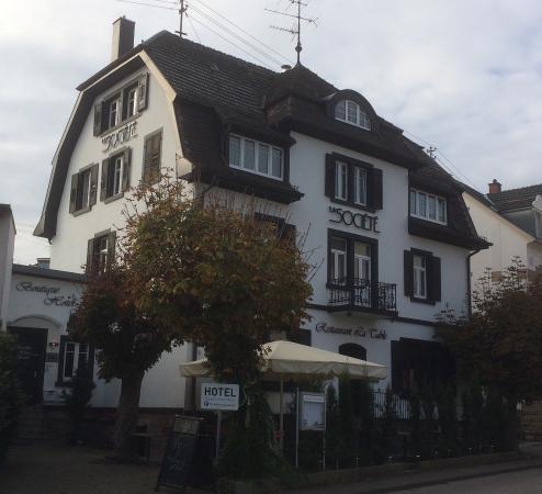 """Aus dem """"Hotel Zur Laube"""" ist inzwischen das """"Boutique Hotel Societé """" geworden."""