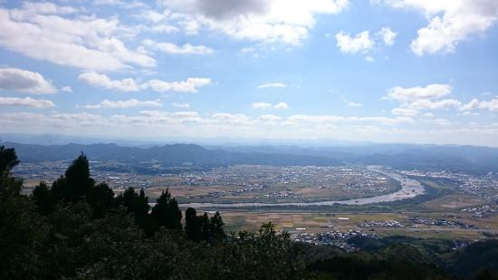 Mt. Tabushi: 景色(南側)