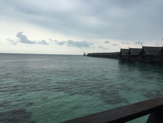 View from the room picture of sipadan kapalai dive - Kapalai dive resort ...