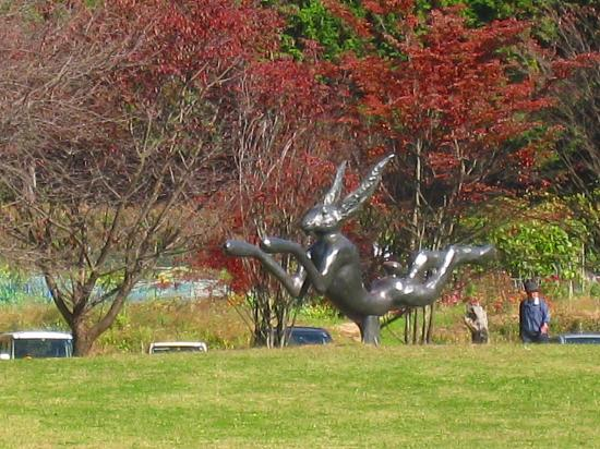 Utsunomiya Museum of Art: 広場の作品1
