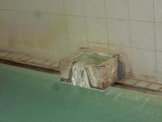 Yoshidaya : 給湯口。お湯の投入量が多いです。