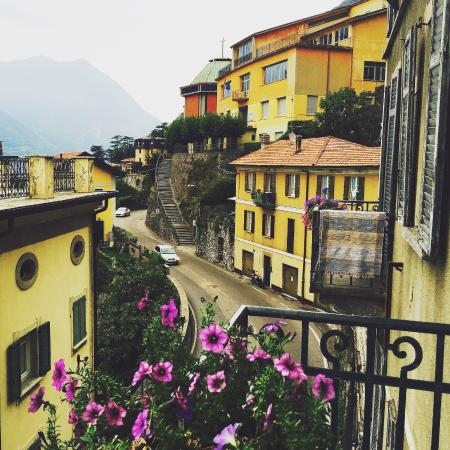 Albergo Milano: Вид с нашего балкона