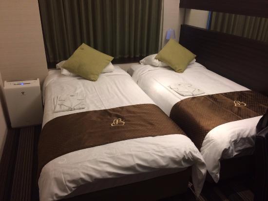 Hotel Brighton City Osaka Kitahama: twin bed
